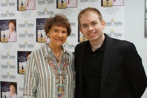 Beverly Lewis and Steven Dunn